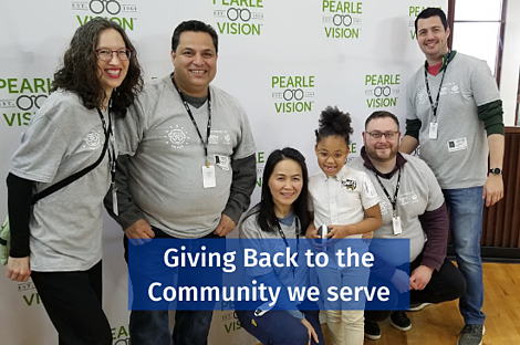 Giving Back to the Community we serve